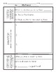 Narrative and Opinion Writing Student Template