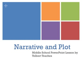 Middle Grades - Narrative and Plot Lesson