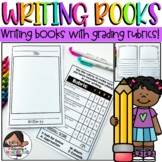 Narrative and Story Writing Books With Grading Rubrics
