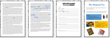 Narrative for Year 3 NAPLAN - Activities, Planning Worksheet and Stimulus