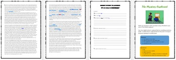 Narrative for Year 5 NAPLAN - Activities, Planning Worksheet and Stimulus