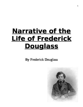 Narrative of the Life of Frederick Douglass Study Guide