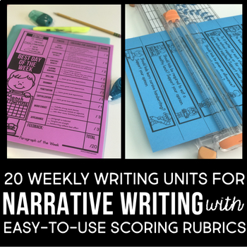 Paragraph Writing | How to Write a PARAGRAPH OF THE WEEK | Narrative Writing