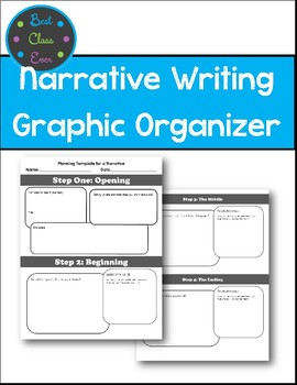 Narrative or Story Writing Planner
