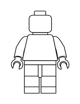 "Narrative organizer and template ""My Lego Man"""
