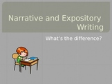Narrative vs. Expository PPT
