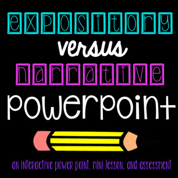 Narrative vs. Expository PowerPoint