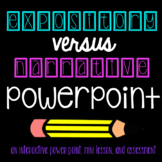 Narrative vs. Expository PowerPoint