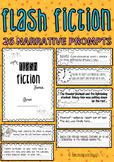 Narrative writing prompts - Flash fiction