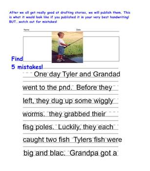 Story writing primary