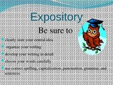 Narrative/Expository Writing posters