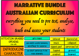 Narrative/Imaginative Writing Bundle AUSTRALIAN CURRICULUM YEAR 5