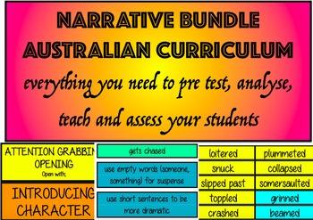 Narrative/Imaginative Writing Bundle AUSTRALIAN CURRICULUM YEAR 5