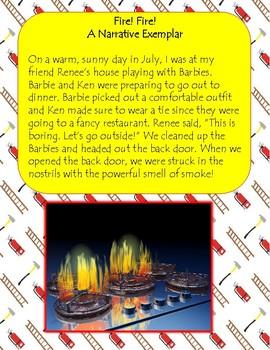 Narrative_Memoir Exemplar - Fire! Fire!