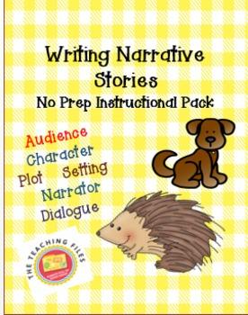Narratives: Writing a Story