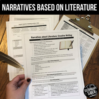 Narratives about Literature: Use with ANY book!
