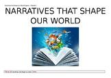 Narratives that Shape Our World program