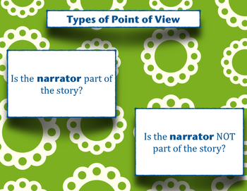 Narrator & Point of View