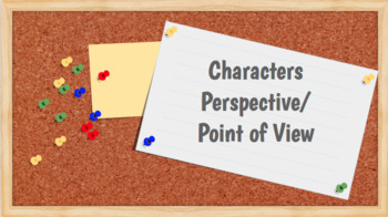 Narrator Point of View vs. Character Perspective