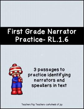 Narrator Practice- RL.1.6