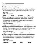 Narrator Worksheet