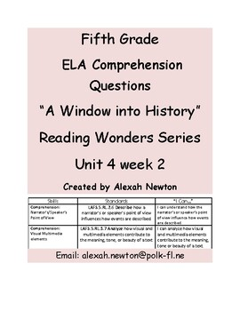 Narrator's point of view - McGraw Hill Reading Wonders Series U4W2