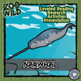 Narwhal -- 10 Resources -- Coloring Pages, Reading & Activities