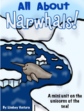 Narwhal Arctic Animal Study FREEBIE