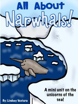 Narwhal Arctic Animal Study FREEBIE