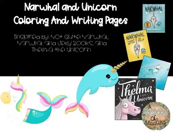 Narwhal and Unicorn Craft