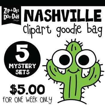 Nashville Clipart Goodie Bundle {Zip-A-Dee-Doo-Dah Designs}