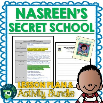 Nasreen's Secret School by Jeanette Winter Lesson Plan and Activities