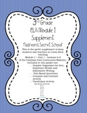 """Nasreen's Secret School"" 3rd Grade ELA Common Core Supplement"