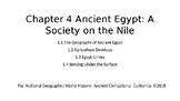 Nat Geo Ancient Civ. Egypt - Ch 4 Les 1.1-1.4