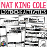 Nat King Cole Listening Activities (Special Musician Edition!)  March, Jazz