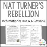 Nat Turner's Rebellion Reading and Questions (VS.7a)