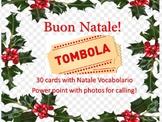 Natale Bingo Natale Tombola Italian Christmas Bingo