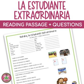 Natalia la estudiante extraordinaria Mini-Cuento