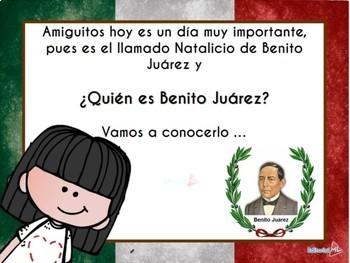 Natalicio de Benito Juarez, Biografia para Niños