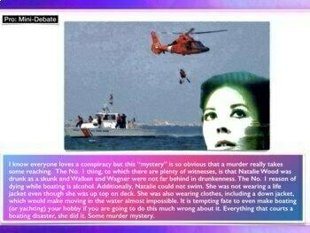 Natalie Wood - Drowning - Homicide v. Accident - Murder - 68 Slides