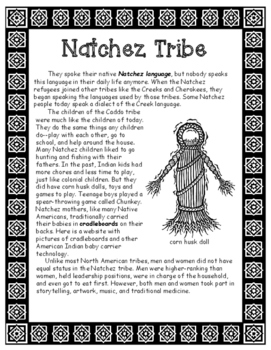 Natchez Native American Tribe of Louisiana Informational Article