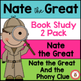 Nate the Great Book Study 2 Pack
