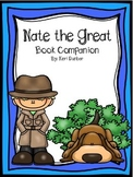 Nate the Great Book Companion (Print and Go for ANY Nate t