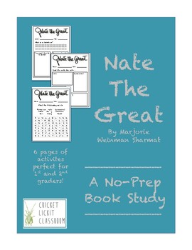 Nate the Great Book Study