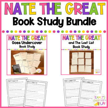 Nate the Great Book Study BUNDLE