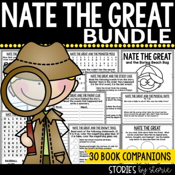 Nate the Great Bundle