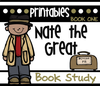 Nate the Great Common Core Novel Study