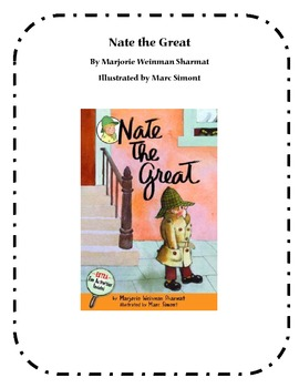 Nate the Great - Comprehension Questions