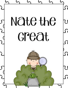Nate the Great Comprehension Questions
