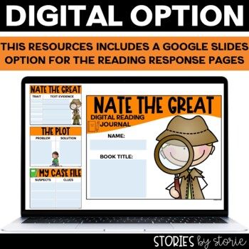 Nate the Great Flip Book and Case File Craft Response Booklet